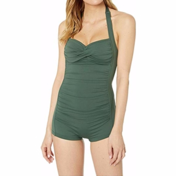 Seafolly Other - SEAFOLLY BOYLEG MAILLOT SWIMSUIT